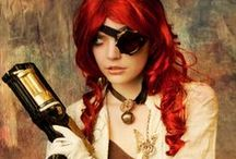 Steampunk Girls / Art Photo