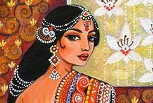 I n d i a n   I n s p i r e   A r t / Indian art and indian inspired at