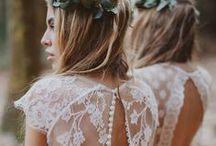 Bridesmaids / Bridesmaid wedding style inspiration