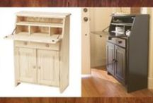 Before and After Ideas / Before and After - Ideas for Stains, paints, and more.
