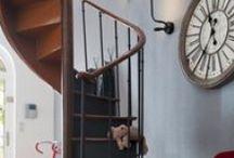 escaliers personnalisés / exemples d'escaliers personnalisés