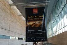 Inauguración Qatar Motor Show 2015