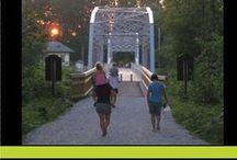 Trails in Franklin and Grand Isle County / Walking, biking, hiking and more all in in Franklin and Grand Isle