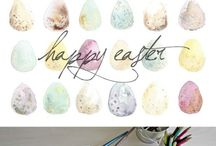 FREE Easter / Free Easter Ideas . All the things you can print, do or make  for #EASTER
