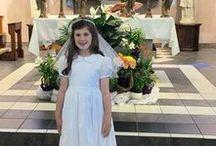 First Communion, Baptisms, Christenings - Little Angels / First Communion, baptisms and special times for a classic white little girls dress!