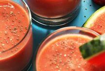 smoothie, juice & bowl