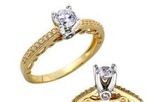 Solitaire collection exclusive to All Things Gold / Striking collection of Solitaire rings available at All Things Gold.
