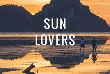 Sun Lovers - sunset & sunrise around the world / The most beautiful sunsets and sunrises around the world. Les plus beaux levers et couchers de soleil aux quatre coins du monde.