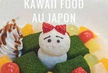 """Kawaii food Japan / Kwaii food : food so cute that you don't want to eat it! Des plats si mignons qu'on n'a envie de les contempler plutôt que de les manger !  Car manger, cela se fait aussi avec les yeux... et au Japon, on se régale ! Petite collection de """"food kawaii"""" ou nourriture trop mignonne pour être mangée ! Le Japon, c'est trop beau, c'est trop bon !"""