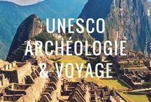 Archéologie & UNESCO en voyage / Passionnés d'archéologie, nous partageons nos découvertes à travers le monde, à la recherche des plus beaux sites UNESCO. (Photo : le Machu Picchu - Pérou)