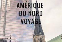 Amérique du Nord voyage / Voyager en Amérique du Nord, à la découverte des villes qui touchent le ciel et des réserves naturelles à perte de vue. Canada, Alaska, USA, Mexique.