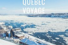 Québec voyage / Partir au Canada et découvrir le Québec et ses régions : une aventure à vivre aux quatre saisons !  Montréal, Québec, Saguenay, Mauricie, Lanaudière, Laurentides, Gaspésie, Outaouais, Abitibi...