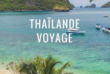 Thaïlande voyage / Voyager en Thaïlande depuis les montagnes verdoyantes du nord jusqu'aux plages paradisiaques du sud en passant par Bangkok : tant à découvrir !  Nature, culture, aventure... et beaucoup de sourires !