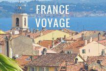 France voyage / Voyager en France : tant à découvrir ! Parcourir le pays de long en large, du Nord au Sud, et se perdre au détour des villes et villages, se baigner dans ses mers et randonner entre ses montagnes...