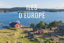 Îles d'Europe Voyage / Redécouvrir les plus belles iles d'Europe : depuis celles de Finlande jusqu'aux Canaries en passant par l'Islande, l'Irlande, Ibiza, Sicile, Corse... et les autres iles de la Méditerranée