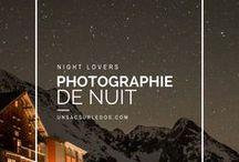 Night lovers - photographies de nuit / Night lovers - pour les amoureux de photographie de nuit, éclairées par les étoiles et la voie lactée.