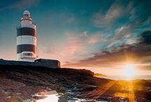 Phares du monde - lumière sur la mer / Photographies des plus beaux phares du monde : gardiens des mers !