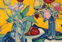 The Scottish Colourists / Samuel John Peploe (1871 – 1935) was a Scottish Post-Impressionist painter, noted for his still life works and for being one of the group of four painters that became known as the Scottish Colourists. The other colourists were John Duncan Fergusson, Francis Cadell and Leslie Hunter.