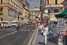 Contemporary British Oil Painters