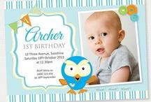 Archer 1st Birthday