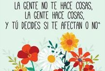 Cuestión de Actitud / Creas lo que crees // You are what you think