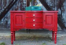 Painted Furniture / Furniture is like new again / by Sandra Petree
