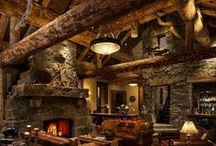 Rustic living / Homes that capture Warmth and a rich rustic style.