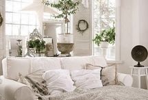 Home Decor / ~ Shabby chic home decor & cozy touches ~
