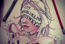 Tattoo & piercing. / by Dagný Kristjánsdóttir