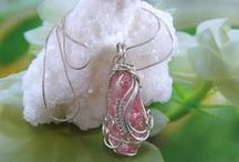 Wire Pendants And Earrings