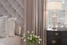 BEDROOM | MIRRORED | TUFTED | ROMANCE | ELEGANCE / My love for romantic, vintage, elegant, mirrored and tufted furniture.