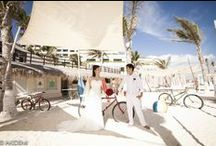 OASIS SENSE - Photo Session  オアシス センス / Weddings photo sesión  with  cute Japanese newlywed  in  Cancún Mexico. Location: Oasis Sense Photographer : AkiDemi  カンクン ウエディングビーチセッション 撮影場所:オアシス センス フォトグラファー:AkiDemi