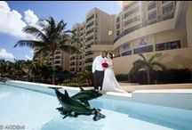 THE ROYAL SANDS - Photos Session  ザ ロイヤル サンズ / Weddings photo sesión  with  cute Japanese newlywed  in  Cancún Mexico. Location: The Royal Sands Photographer : AkiDemi  カンクン ウエディングビーチセッション 撮影場所:ザ ロイヤル サンズ フォトグラファー:AkiDemi