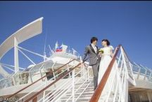 ROYAL CARIBBEAN CRUISE  ALLURE OF THE SEA - Photo Session   ロイヤル カリビアン クルーズ アリュー オブ ザ シー / Weddings photo sesión  with  cute Japanese newlywed  in  Cancún Mexico. Location: Royal Caribbean Cruise Allure Of The Sea Photographer : AkiDemi  カンクン ウエディングセッション 撮影場所:ロイヤル カリビアン クルーズ アリュー オブ ザ シー フォトグラファー:AkiDemi
