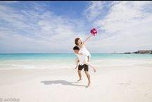 FIESTA AMERICANA CORAL BEACH - Photo Session / Weddings photo sesión  with  cute newlywed  in  Cancún Mexico.  Location: Fiesta Americana Coral Beach  カンクン ウエディング ビーチ フォト セッション 撮影場所:フィエスタ アメリカーナ コーラル ビーチ カンクン  フォトグラファー:AkiDemi