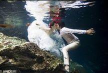 TRASH THE DRESS_Cenote / CENOTE RIVIERA MAYA セノーテ リビエラマヤ www.akidemi.com