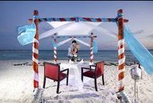 ROMANTIC DINNER / Romantic dinner_Cancún Beach ロマンチック ディナー _カンクン ビーチ