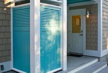 Outdoor Shower / Outdoor shower ideas great for the cottage.