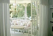 Perfect porches / ~ Porches perfect for spending a summer day reading ~