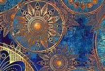 Pattern / Beautiful, wonderful the one