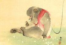 Japanese art / Beautiful, wonderful the one