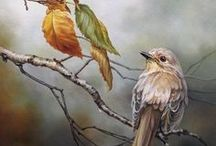 Oil painting / Beautiful, wonderful the one