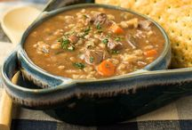 Soup / To warm you inside and out!