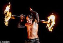 FIRE SHOW / FIRE SHOW ファイヤーショー_フォトセッション Location: Isla Mujeres Cancun Photographer AkiDemi 撮影場所:イスラムヘーレス  フォトグラファー:AkiDemi