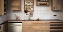 Kitchens inspiration / Cocinas en general, no tienen porqué ser exteriores.