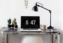Space: Workspace / by Leslie Santarina | Spotted SF