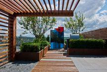 Project Aralia Rooftop Gardens Chelsea Creek by Aralia / Photos and CGI's of rooftop gardens designed by Aralia Garden Design