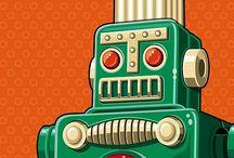 Robots + Rayguns