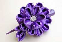 "Kanzashi & Fuxico & Shibori & Ribbon, fabric flowers / Beautiful tsumami kanzashi flowers made with traditional japanese technic and modern adaptations and much more... You may visit my ""Kanzashi&Flowers tutorials"" board to learn how to do this ""magic""...   If you like what you see here, then repin and follow me! / by Elena Sheveleva"