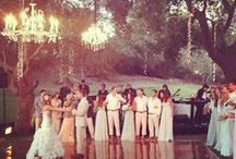 Outdoor Weddings / Beautiful rustic and nature inspired wedding reception/ceremony decor.